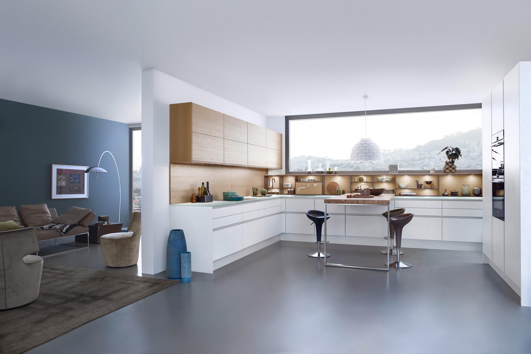 Leicht Einbauküchen im Küchenstudio Bergheim bei Salzburg | {Leicht küchen fronten 61}